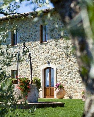 Stunning Villa Entrance in Italy.