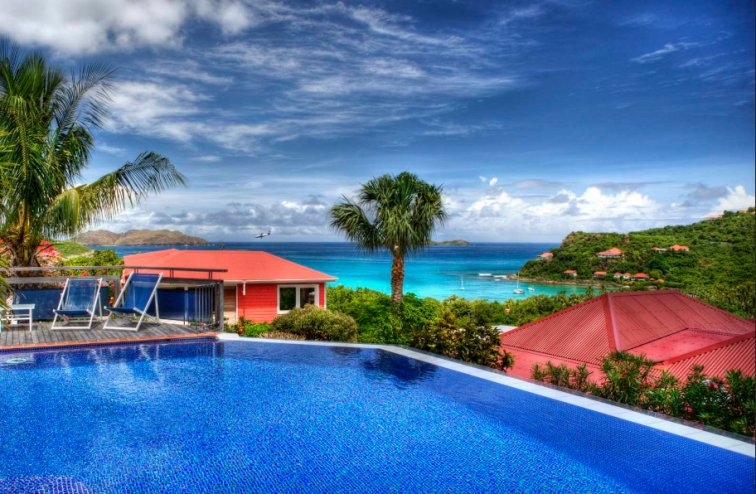 The Views from Some Villas in the Southeast Caribbean are Almost Surreal