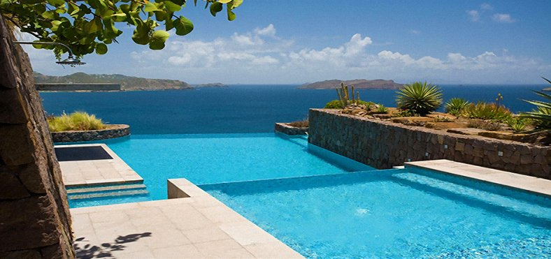 Infinity Pool-Infinity View at this Upscale Villa
