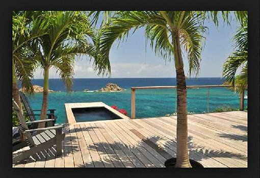 An Amazing Villa Deck in the Southern Caribbean